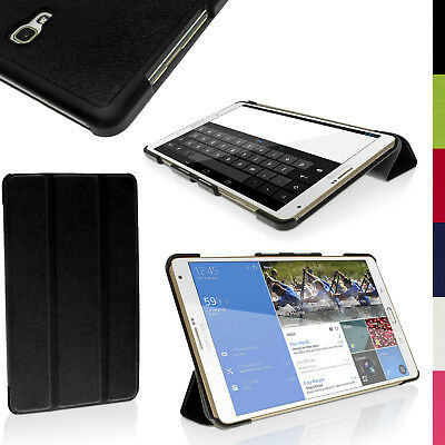 """PU Leather Smart Cover for Samsung Galaxy Tab S 8.4"""" SM-T700 SM-T705 Stand Case"""