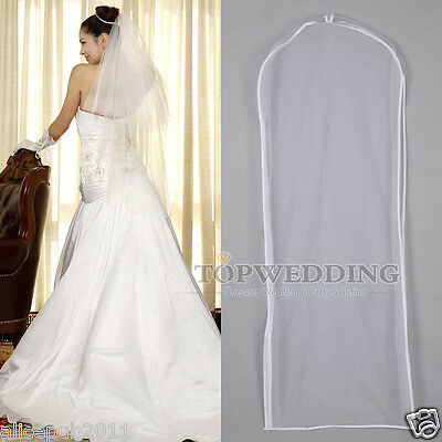 Durable Bridal Wedding Garment Bag Ball Gown Suit Travel Storage Protector Cover