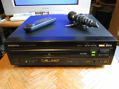 Pioneer CLD-D505 CD/CDV/LaserDisc Player Karaoke w/ Remote and Microphone