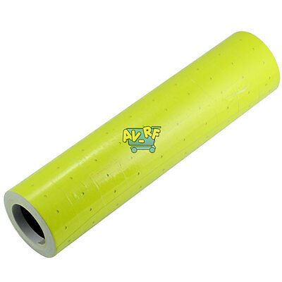 10 Rolls X 500 Tags Price label Marker Paper Refill For MX-5500 Price Gun Yellow