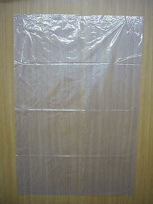 """Clear Plastic Bags 24"""" x 36"""" x 120g Pack 50"""