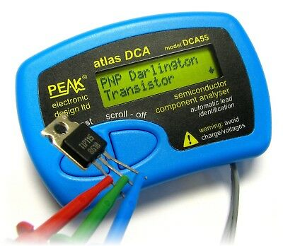 Peak DCA55 Atlas Semiconductor Component Analyser