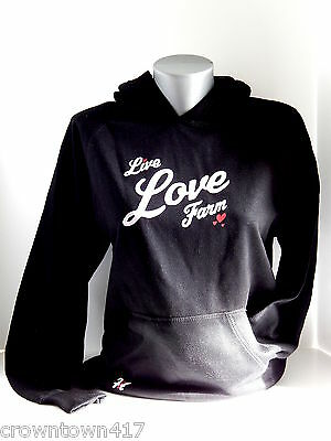 Case IH Youth Girls Black Pullover Hoodie - Live Love Farm