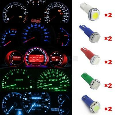 Ice Blue/White/Red/Blue/Green T5 1-SMD-5050 LED Instrument Dashboard Gauge Lamp