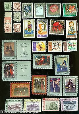 Poland  Lot Of Used And Mint Stamps As Shown