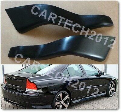 Volvo S60 - Rear Eyebrows, tuning