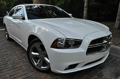 Dodge : Charger SXT-EDITION 2012 charger sxt no reserve leather heated 20 s moon spoiler salvage rebuilt