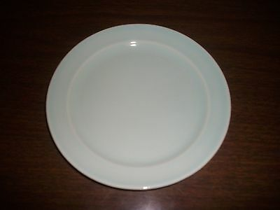 """EXCELLENT T.S. & T. CO. LURAY SURF GREEN 6 1/4"""" BREAD PLATE 1940"""