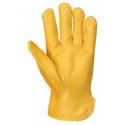 Fully Lined Thinsulate Leather Work Gloves, Drivers/cold Work -Mens Size Xl