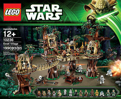 LEGO Star Wars Ewok Village 10236 RARE Factory Sealed New in Box FREE SHIPPING