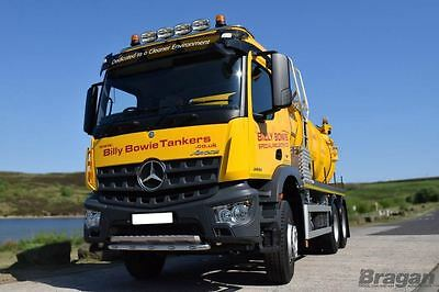 Mercedes Actros / Axor Low Cab Stainless Steel Roof Light Bar Truck Lorry