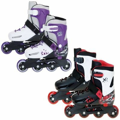 Xq Max Boys Roller Blades Inline Skates Adjustable Size Kids Pro Skating 3 Sizes