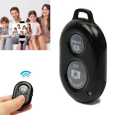 Wireless Bluetooth Camera Remote Control Shutter Self-timer for iPhone Samsung