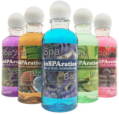 3 pack Insparation spa/hot tub/bath liquid aromatherapy 9oz fragrances PICK 3
