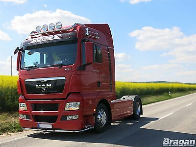 Man TGA / TGX XLX/ LX Cab Stainless Steel Roof Light Bar Scania DAF Volvo Truck