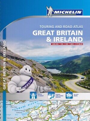 Great Britain & Ireland. Touring and road atlas 1:300.000
