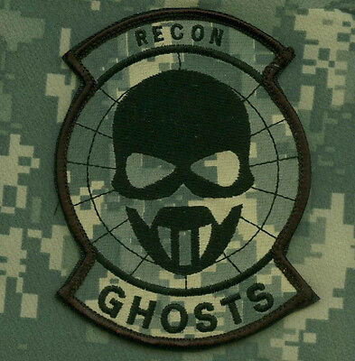 Kandahar Whacker© Nato Isaf Marsoc Raiders Special Ops Acu Patch: Recon Ghost