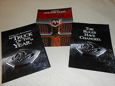 3 DIFFERENT 1994 DODGE RAM PICKUP TRUCK BROCHURES, CATALOGS for 1 Low Price!