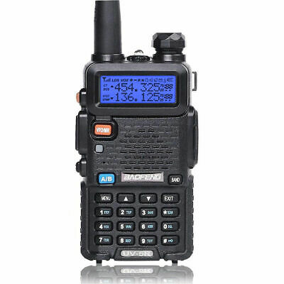 Baofeng UV-5R Dual-Band VHF UHF FM VOX Transceiver Two way Radio Walkie Talkie