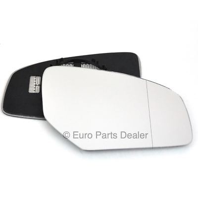 Driver Side Wide Angle Heated Wing Door Mirror Glass Honda Civic 2012-17