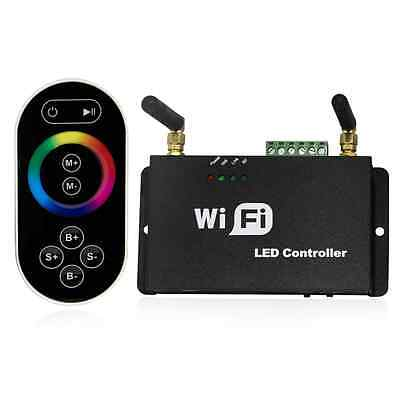 All-purpuse WiFi LED Controller w/ RF Remote - Multi-zone LED Dimmer Controller