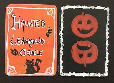 Haunted Lenormand Oracle Cards Deck Fortune Telling Halloween Spooky Limited