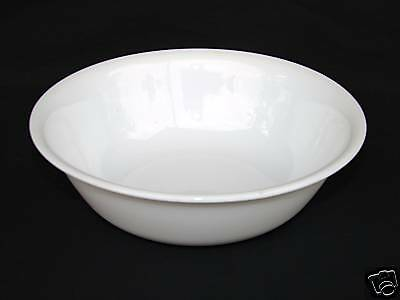 CORELLE WINTER FROST WHITE CEREAL BOWL(S)