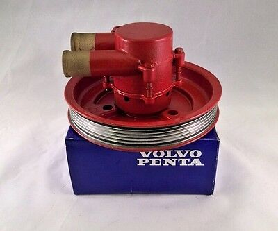 Volvo Penta Raw Water Sea Pump REBUILT 21212799  3812519  4.3 5.0 5.7  V6 & V8