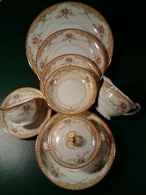 "(69) PIECES OF BEAUTIFUL MEITO ""DERBY"" PATTERN FINE JAPANESE CHINA- GORGEOUS"