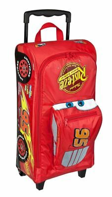 großer Disney Cars 3D Auto TROLLEY TROLLY KOFFER TASCHE Lightning Mc Queen