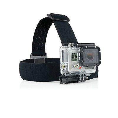 Adjustable Elastic Head Strap Mount Belt for Gopro HD Hero 1 2 3 3+ 4 Accessory