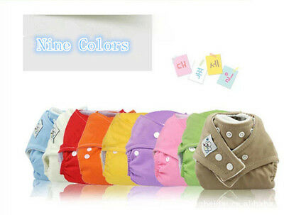 1PC Cute New Unisex Adjustable Baby Nappy Diaper Reusable Washable Cloth,BP40