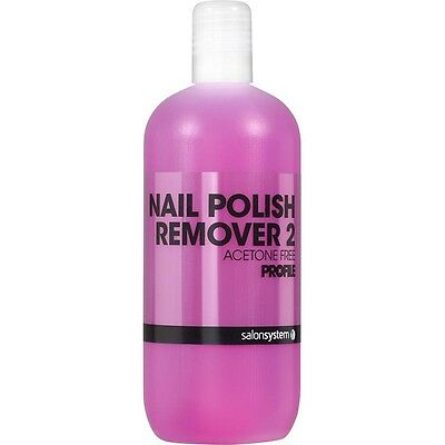 Profile Nail Polish Remover 2 125ml Acetone Free for Sculpted & Most Art. Nails
