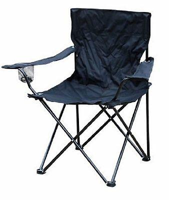 NEW Black Garden Patio Folding Picnic Camping Beach BBQ Party Chair Furniture