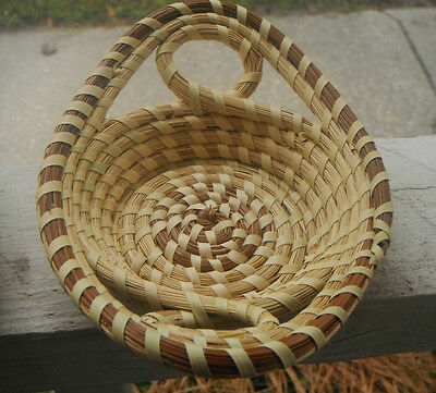 Gullah Sweetgrass Basket ( Small Tray )