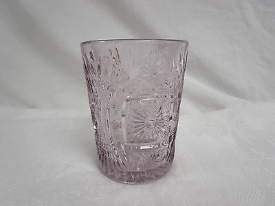 """EAPG Beautiful Purple Colored Glass OR Spooner 4"""" tall"""