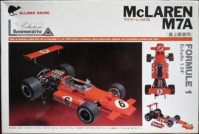 ULTRA RARE Union Japan 1/24 scale 1968 Mclaren M7A Model Kit