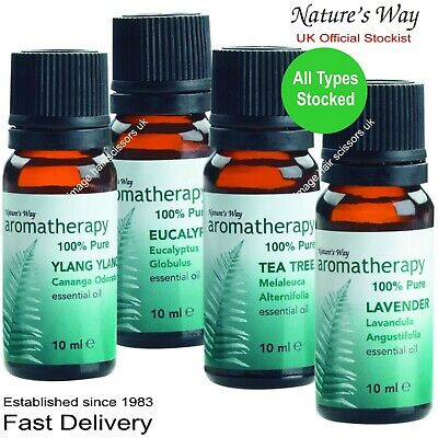Aromatherapy Essential 100% Pure Oil 10ml All types stocked Professional Quality