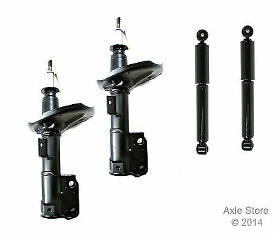 Full Set 4 New Struts Shocks Fit Acura MDX Lifetime Warranty Free Shipping