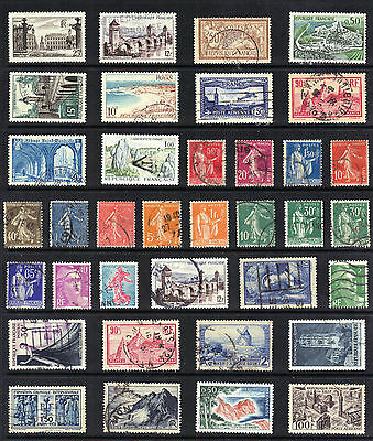 FRANCE COLONIES OLD STAMP Collection Used Ref:E399