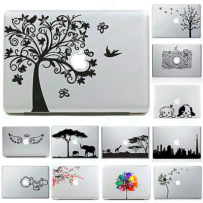 Cool Silhouette Vinyl Decal Sticker Skin for Apple MacBook Pro Air Laptop
