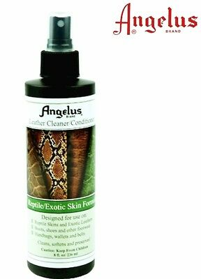 Angelus Reptile Exotic Skin Formula spraY CLEANER CONDITIONER Leather shoe boots