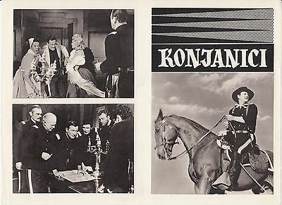 Horse Soldiers-John Wayne/john Ford-2 Original Yugoslav Movie Programs 1959