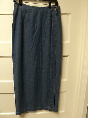 """SIZE SMALL GORGEOUS NEW /""""ROPA/"""" BRAND /""""TEAL w// VELVET/"""" TIERED BROOM SKIRT"""
