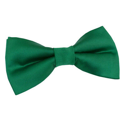 High Quality Pre Tied Mens Wedding Bow Tie Emerald Green