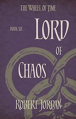 Lord of Chaos: Book 6 of the Wheel of Time by Robert Jordan Paperback Book Free