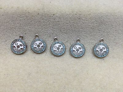 Lot of 5 Vintage Daemen College New York Charms