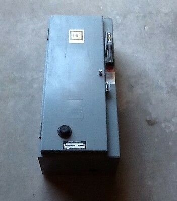 SQUARE D 8538SBG12 Combination Starter Motor Control