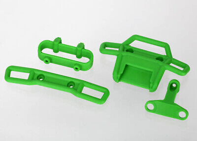 Traxxas 7236A Front/Rear Bumper/Support 1/16 Grave Digger