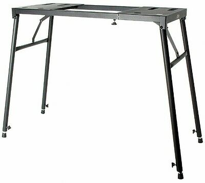 Stageline KS11 Table-Style Folding Adjustable Keyboard Stand